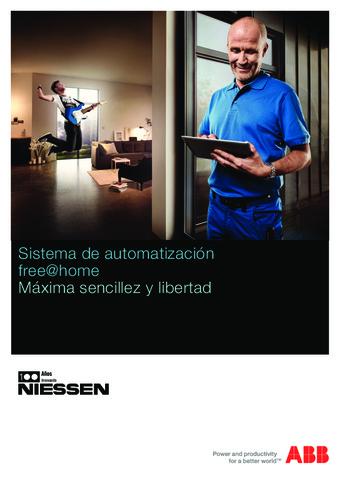 ABB  - Catálogo Sistema de automatización free at home