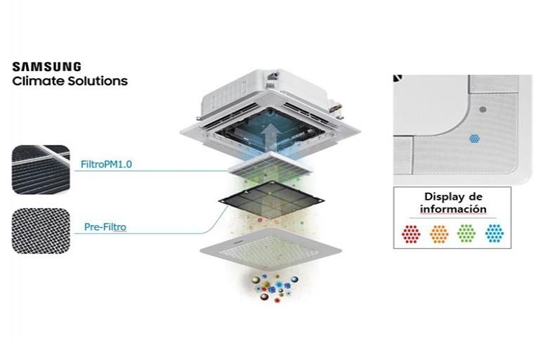 Webinar paneles purificadores de Samsung
