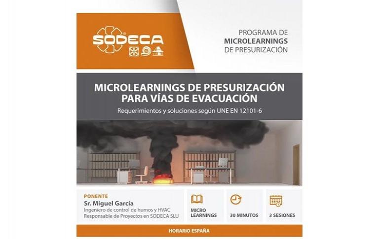 Programa de microlearnings de SODECA