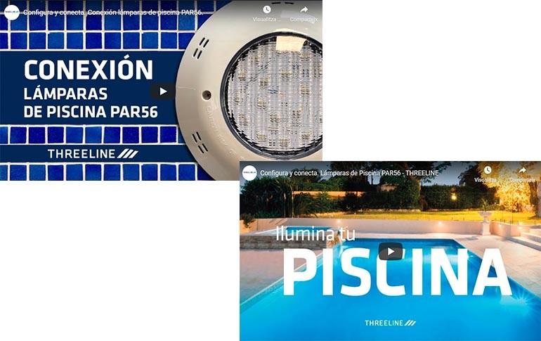 Aprende a configurar y conectar lámparas de piscina con Threeline – #NadieSeQuedaAtrásConAúna
