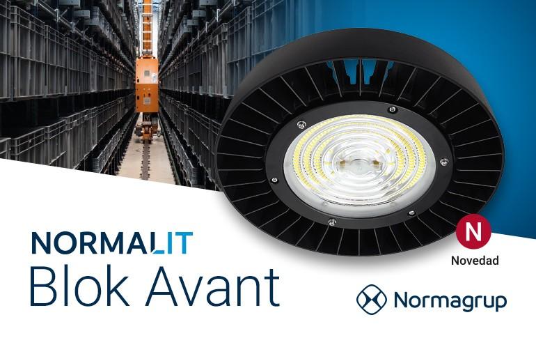 NORMALIT actualiza las referencias de la familia Blok Avant