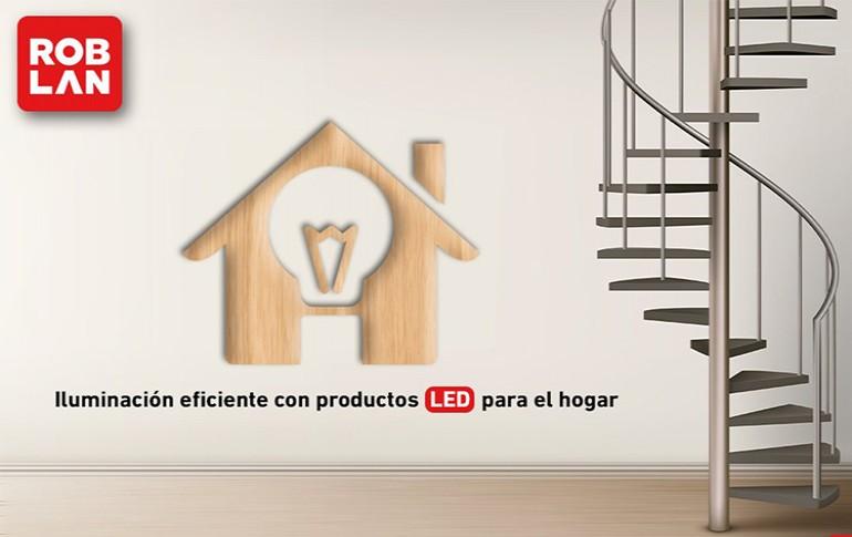 Iluminación LED eficiente para el hogar