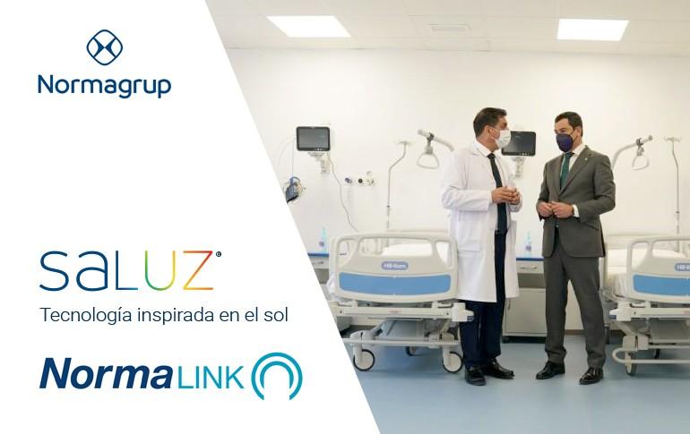 Otro hospital más con zonas UCI con SALUZ + NORMALINK