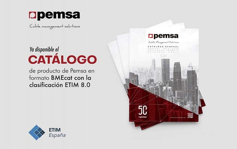 Catálogo de Pemsa en formato BMEcat con clasificación ETIM 8.0