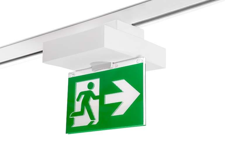 ¿Qué dice la norma de luminarias de emergencia para carril electrificado?