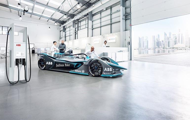 ABB proporcionará la tecnología de carga a los bólidos del Campeonato Mundial ABB FIA de Fórmula E