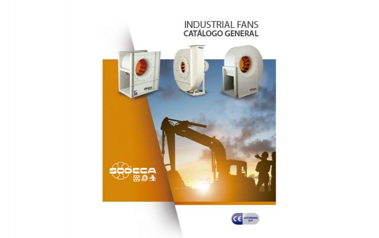 Catálogo industrial de fans de SODECA