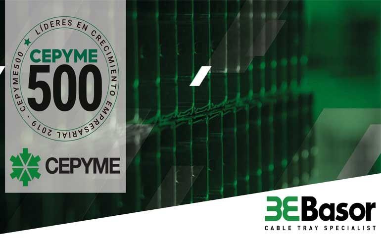 Basor Electric entre las 500 PYMES líderes en crecimiento de España