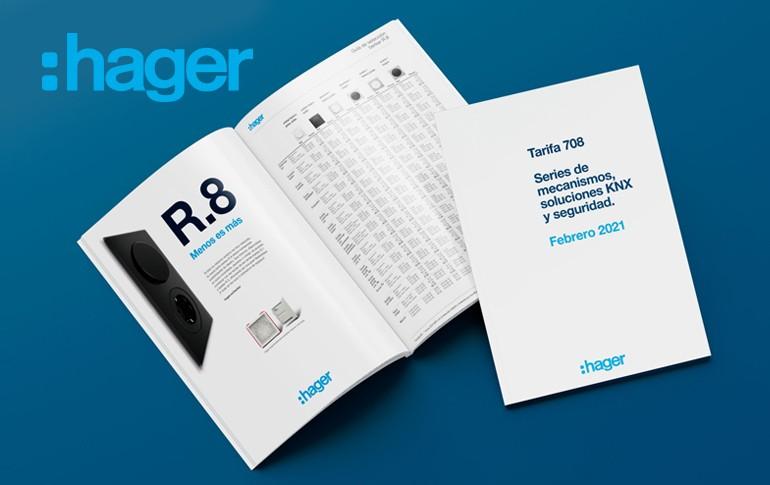 Nueva tarifa 708 de Hager
