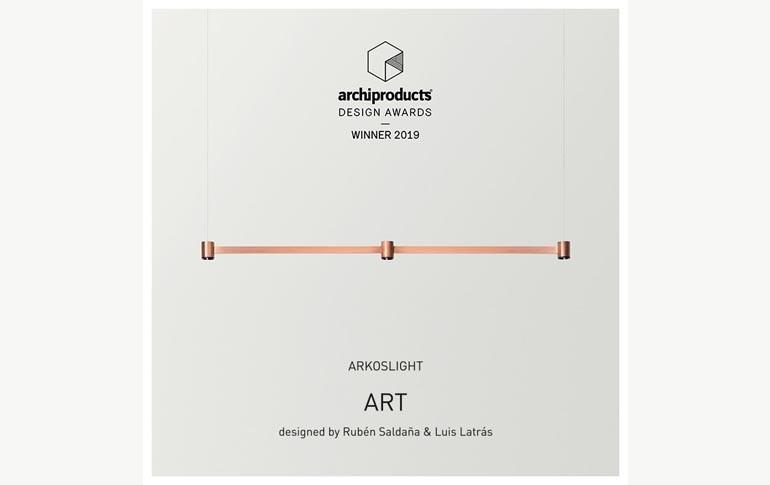 Luminaria Art de Arkoslight, ganadora Archiproduct Design Awards 2019