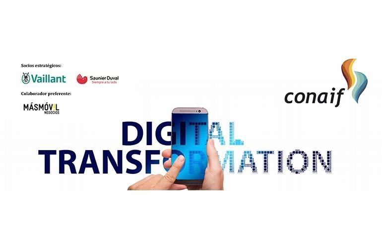 CONAIF, Vaillant, Saunier Duval y Grupo MásMóvil colaboran para el impulso de digitalización de las empresas instaladoras