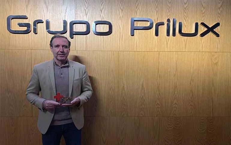Cruz Roja premia la solidaridad y compromiso de Grupo Prilux