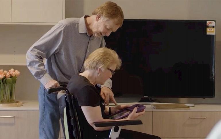 Asistencia automatizada ABB para los residentes con esclerosis múltiple