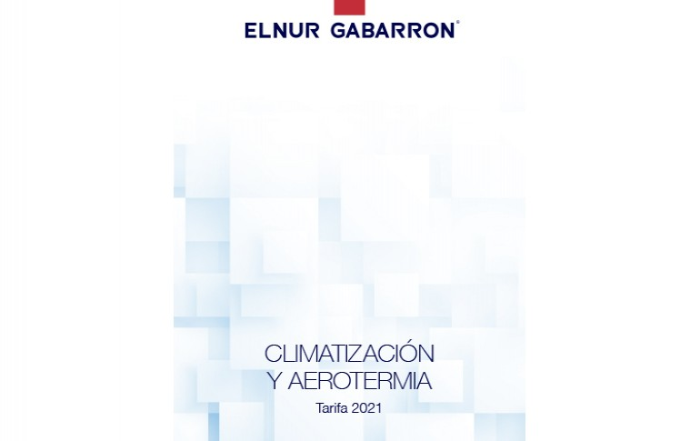 Nueva tarifa de climatización y aerotermia de Elnur Gabarron