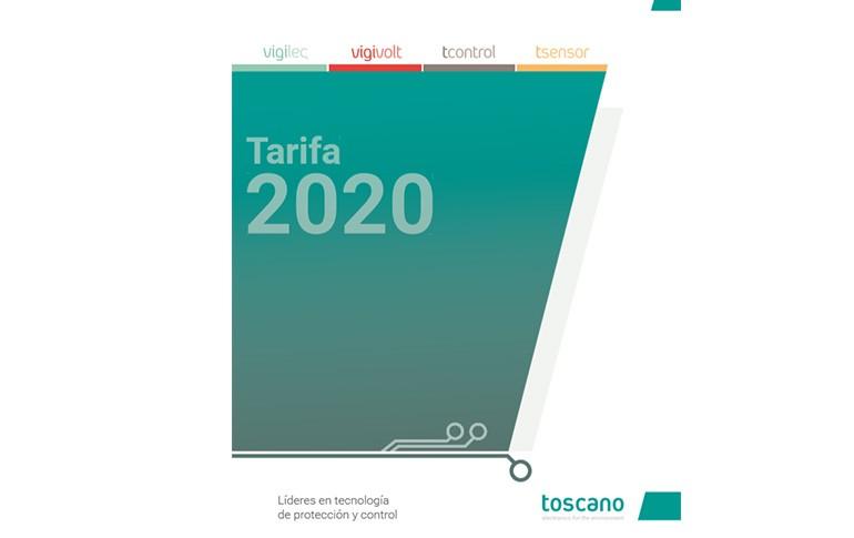 Nueva tarifa de Toscano
