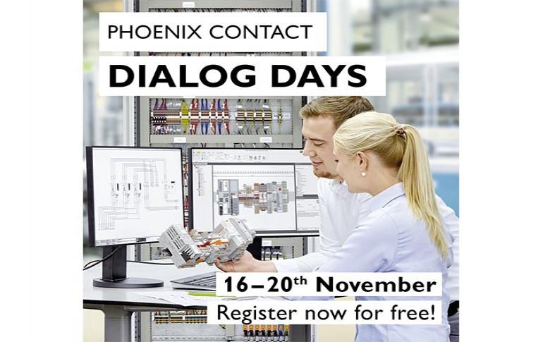 Ven a los Dialog Days de Phoenix Contact