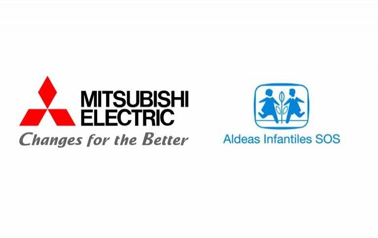 Mitsubishi Electric y Aldeas Infantiles contra el COVID 19
