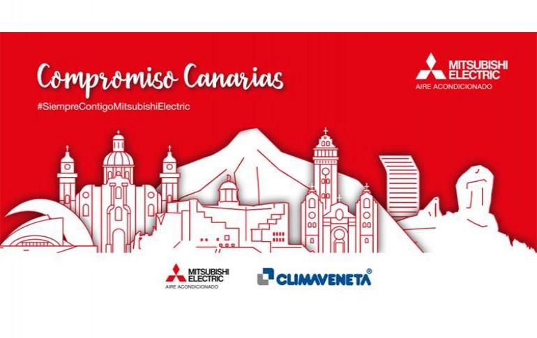 Mitsubishi Electric apuesta por Canarias con su gama más sostenible