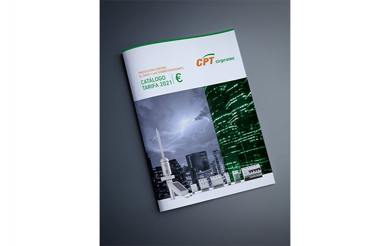 Nuevo catálogo tarifa CIRPROTEC para el 2021