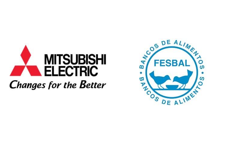 Mitsubishi Electric colabora con la campaña de Navidad de Banco de Alimentos