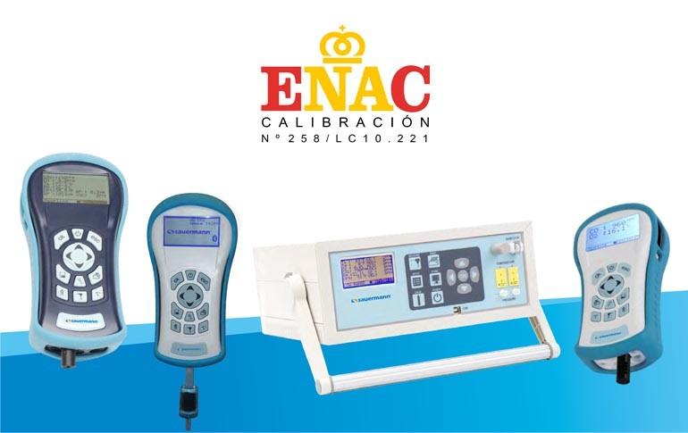 ENAC acredita a Sauermann para medir gases críticos