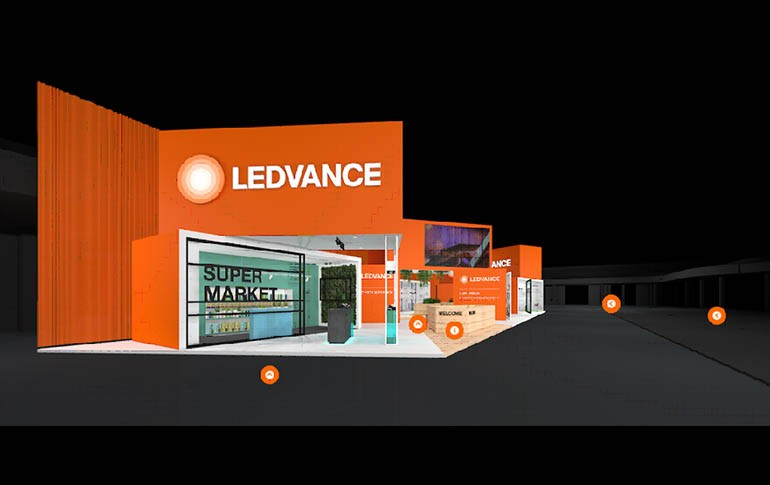 Stand virtual de LEDVANCE para Light+Building