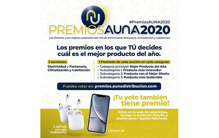 ¡Elige a los finalistas de los Premios Aúna 2020!