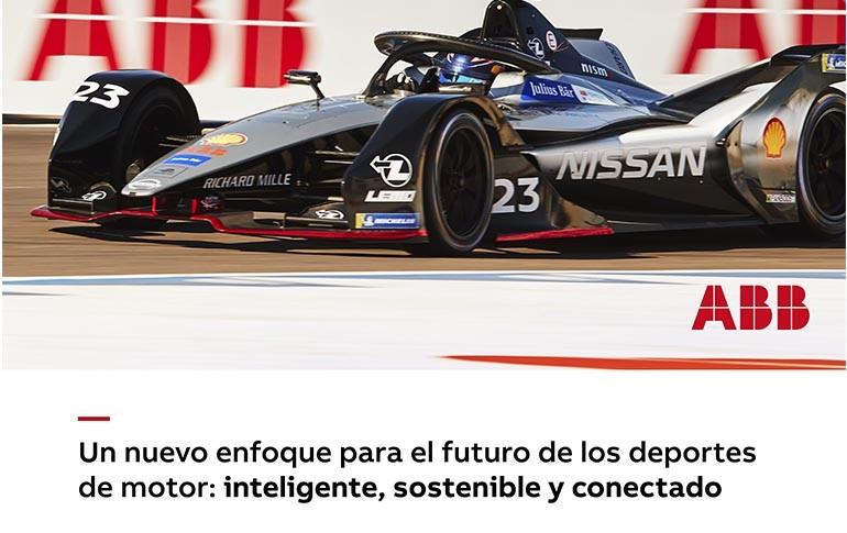 ABB y el futuro de los deportes de motor