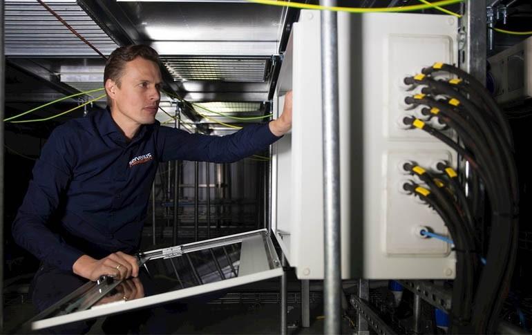 ABB proporciona sus soluciones a un centro de datos holandés