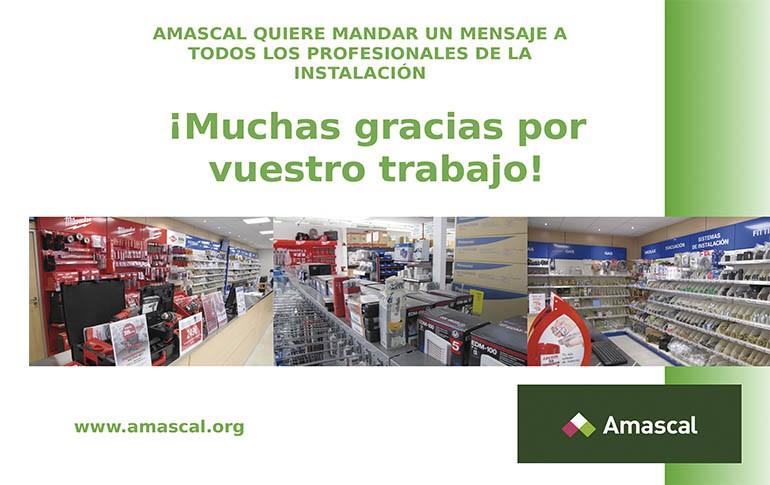 Amascal agradece a los profesionales su compromiso con la distribución