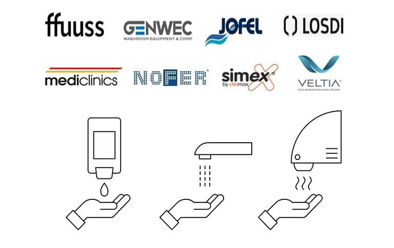 Los principales fabricantes y distribuidores españoles  de secadores de manos eléctricos garantizan  sus condiciones de uso durante la pandemia