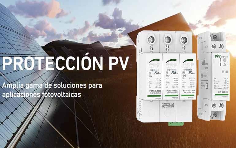 Cirprotec nos asesora para proteger las fotovoltaicas de sobretensiones
