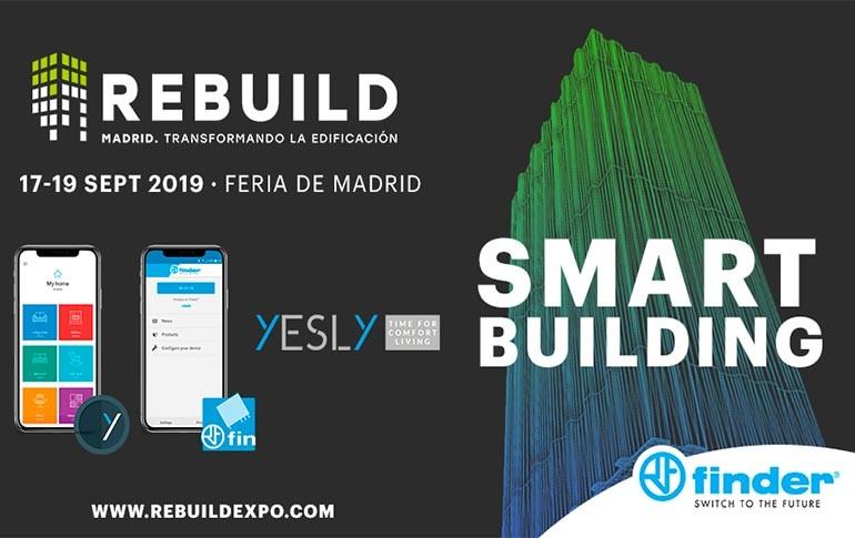 Finder participa en Rebuild 2019