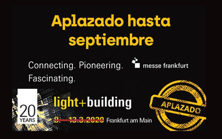 Se pospone Light+Building