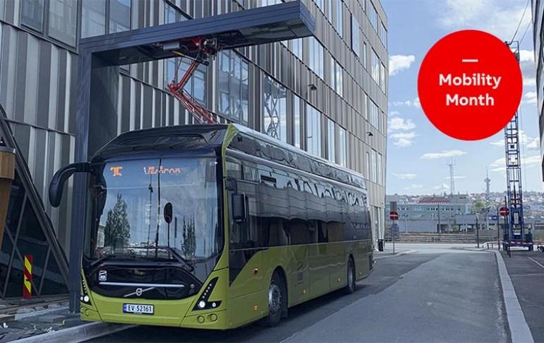 Autobuses eléctricos de ABB y Volvo en Noruega