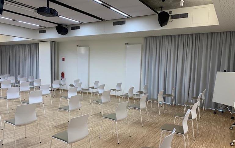 Radiadores TECNA en el nuevo Edificio Dorleta del Campus de Eskoriatza