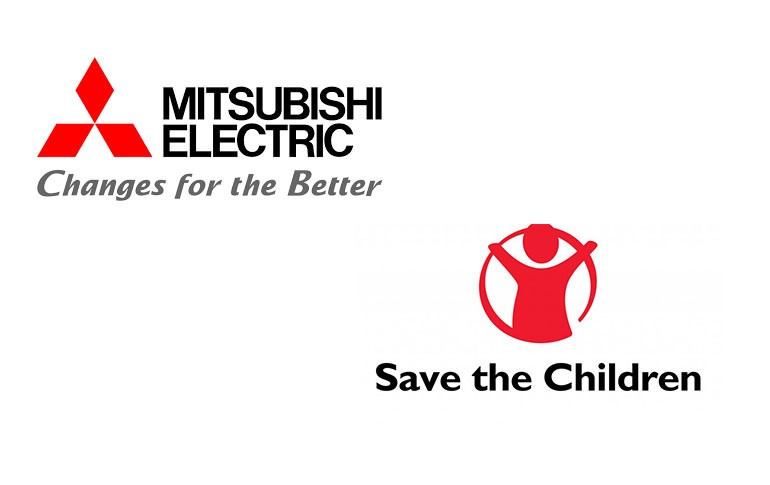 Mitsubishi Electric y Save the Children en la lucha contra el COVID 19