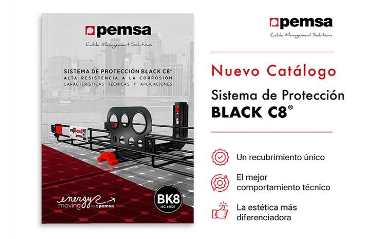 Nuevo catálogo para el sistema BLACK C8  de Pemsa