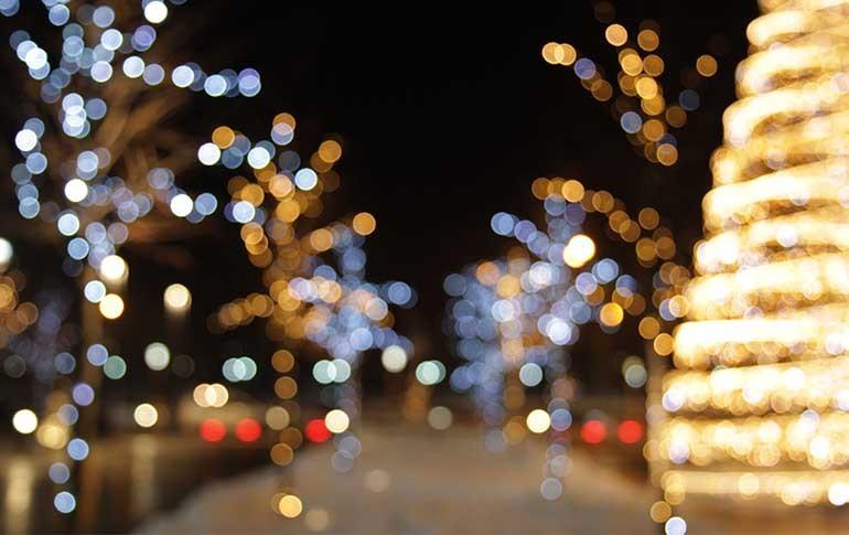 ¿Es la iluminación navideña un derroche de energía?