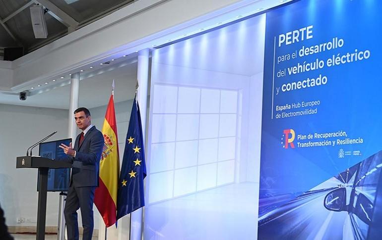 Presentación del Plan PERTE para el vehículo eléctrico