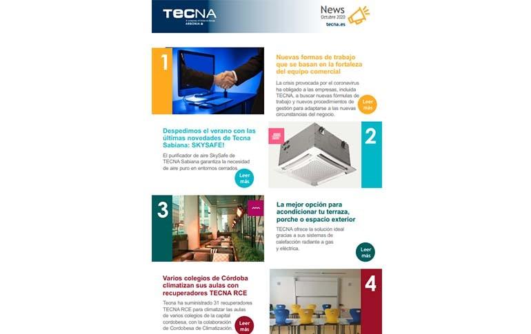 Descubre las últimas novedades de Tecna