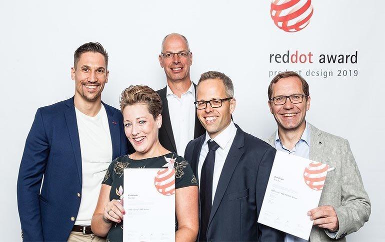 Premio Red Dot a la excelencia en el diseño para ABB
