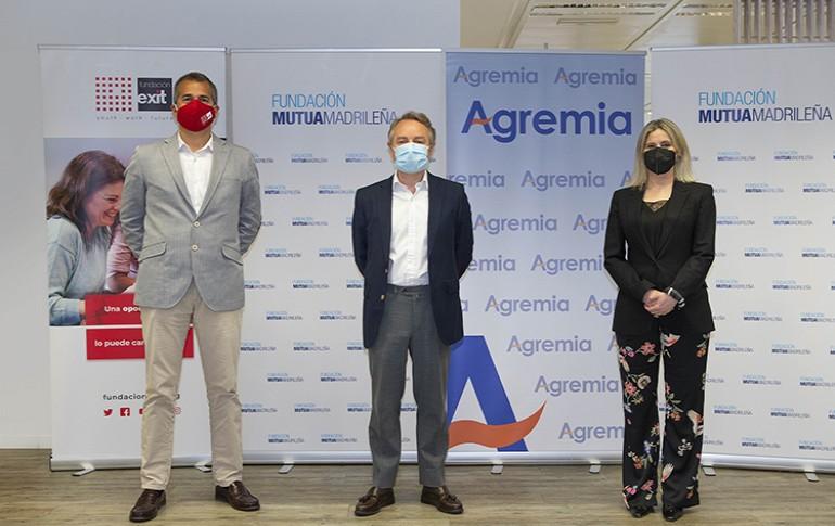 """Fundación Mutua Madrileña, Fundación Exit y Agremia lanzan el programa """"Jóvenes Profesionales II"""""""
