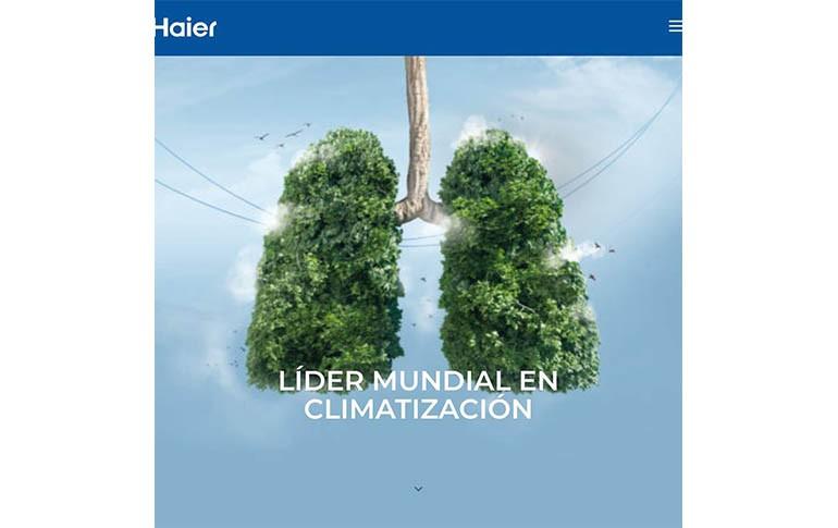 Haier Air, nueva web para nuevos tiempos