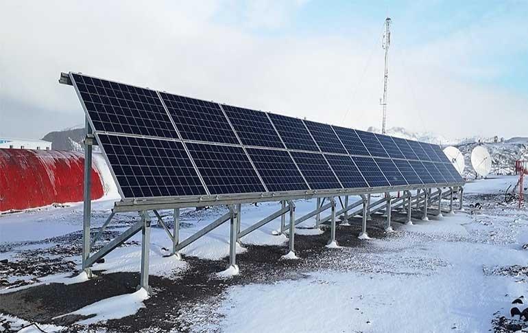 ABB ayuda a la investigación del cambio climático en la Antártida