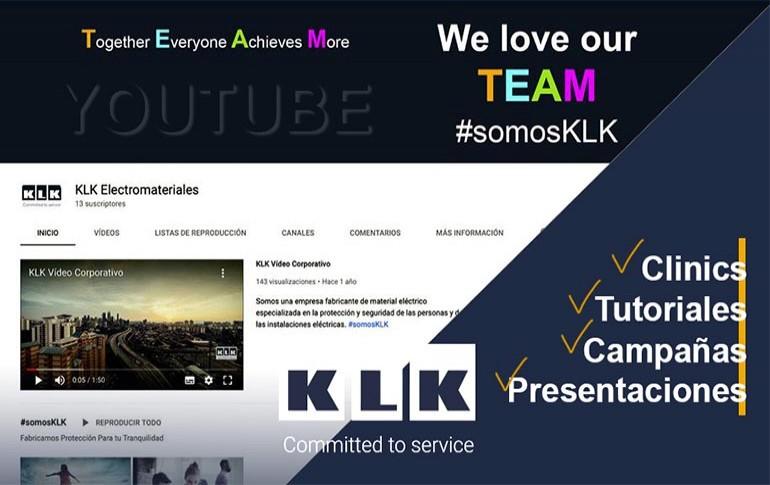 Conoce el canal de YouTube de KLK