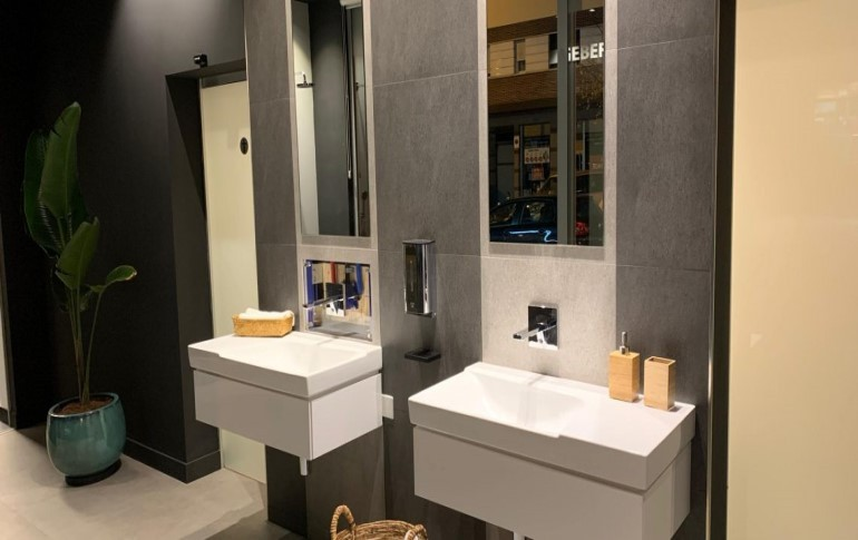Geberit recreará la experiencia del baño inteligente en su nuevo showroom a pie de calle en Bilbao