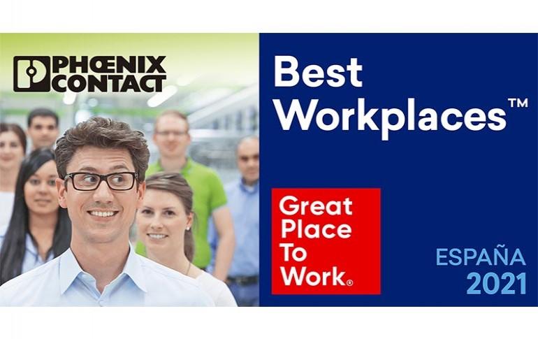 Phoenix Contact,una de Las Mejores Empresas para Trabajar en España en 2021