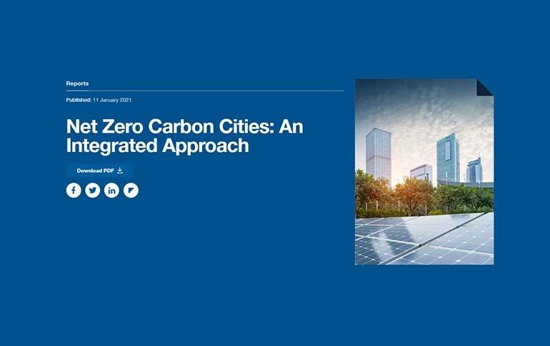 """Schneider Electric, Enel y el Foro Económico Mundial lanzan el informe """"Net Zero Carbon Cities: An Integrated approach"""""""
