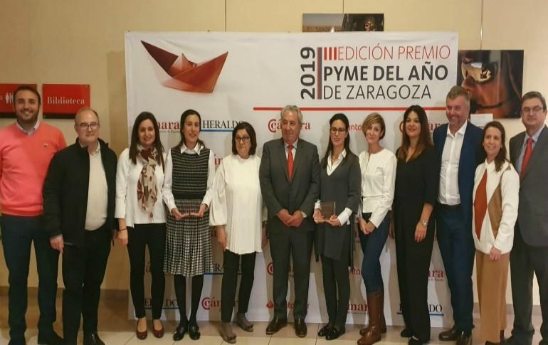 IDE recibe el premio PYME del Año de Zaragoza